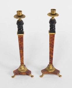 Pair of Biedermeier Style Candlesticks