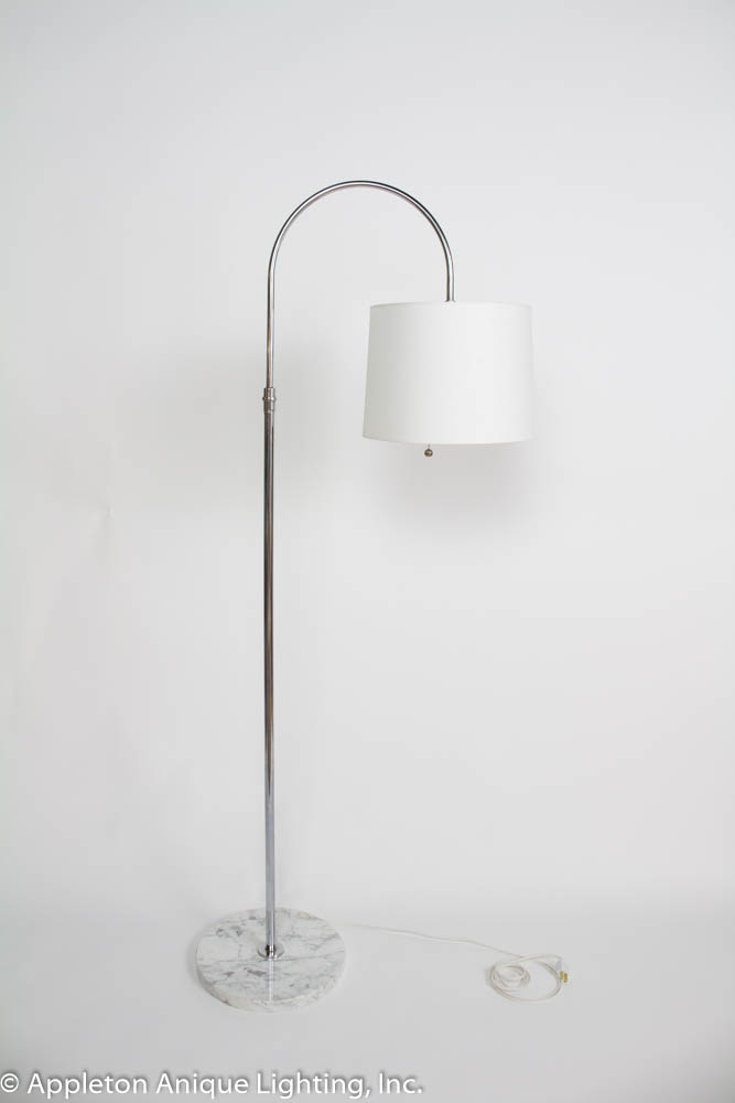 Vintage Chrome Lamp Swivel