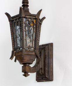 E114: Custom Bronze Exterior Sconces