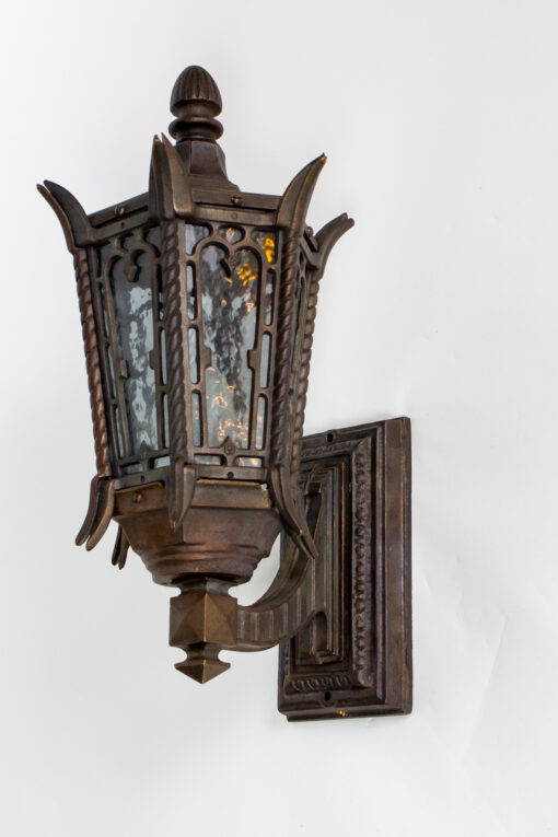 E114: Custom Bronze Exterior Sconces