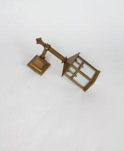 E117: Custom Bronze Exterior Sconce