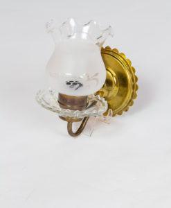 S356: Glass Vintage Sconces