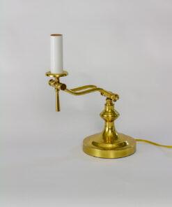 Mid 20th Century Brass Piano Lamp